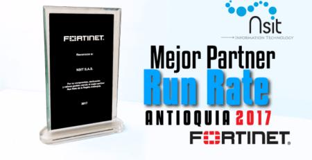 NSIT: El mejor partner Run Rate de Fortinet en Antioquia