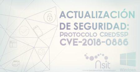 Actualización de Seguridad CredSSP para Microsoft Windows Nsit